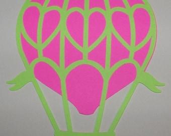 Hot air balloon die cuts
