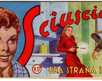 Italian comic strip of italian comic book 1949-1949