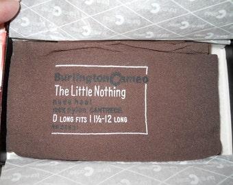 Vintage Burlington Women's Stockings/Nylons  in Original Box