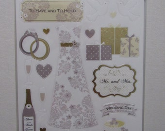 Wedding Scrapbooking Sticker Pack