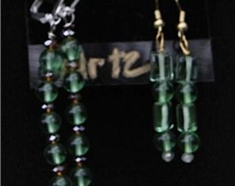 Unique beaded earrings