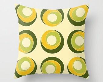 Yellow Pillow Cover, Olive Green Pillow, Designer Pillows, Decorative Throw Pillows, Colorful Pillow, Sofa Pillows, Cushion Cover