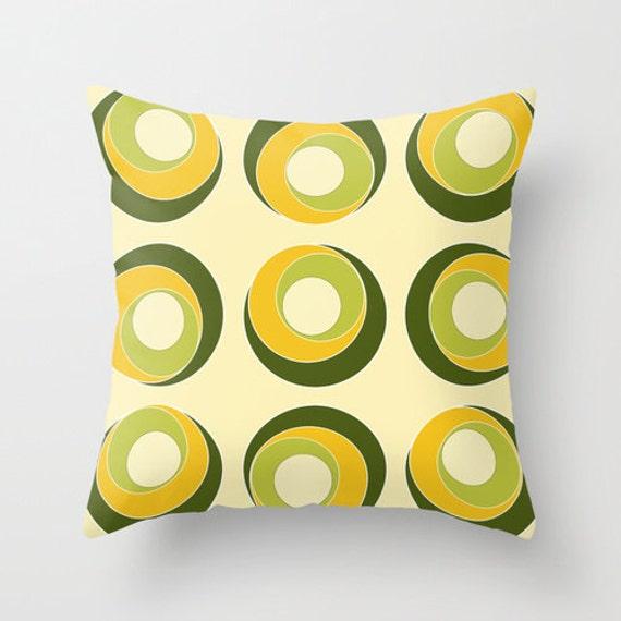 yellow pillow cover olive green pillow designer pillows