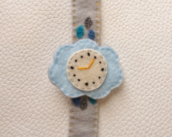 Cloud Felt Watch For Baby and Toddler