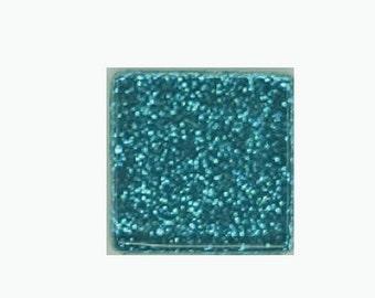 Ocean Glitter Crystal Glass MosaicTiles
