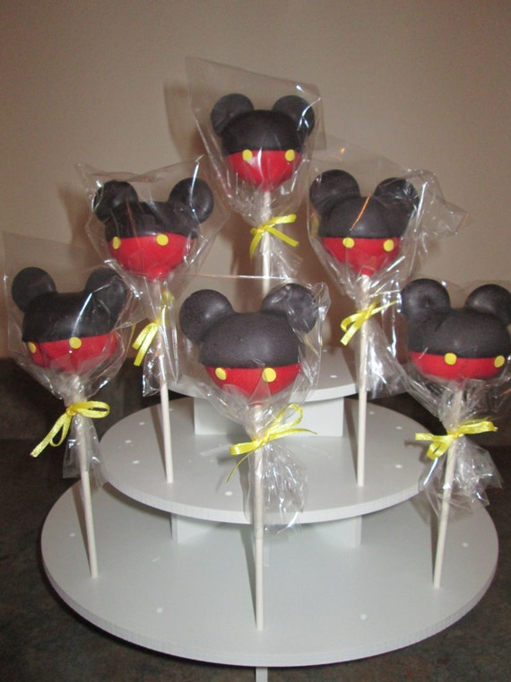 Items Similar To 4 Dozen Mickey Mouse Clubhouse Cake Pops On Etsy