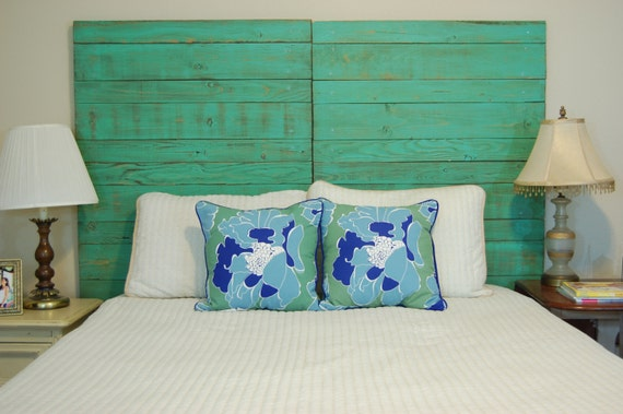 barn walls queen horizontal headboard painted distressed