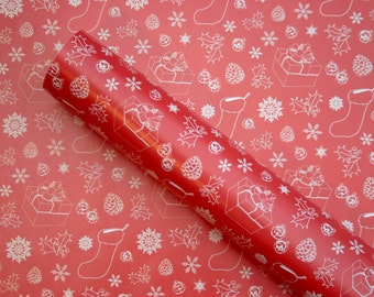 3 x Christmas Wrapping Paper Sheets