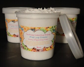 Body Scrub Whipped Foaming ~16 oz. Pick Your Scent