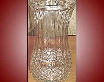 Vintage Hoosier Glass Vase