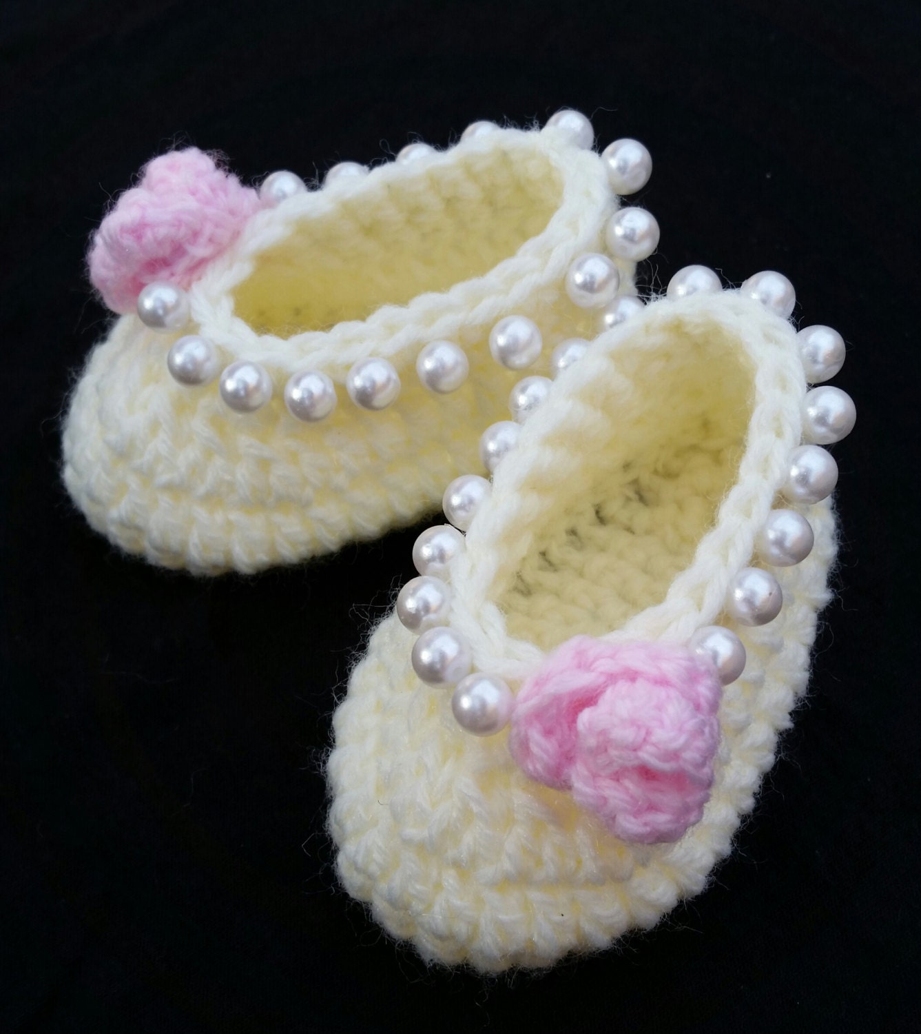 baby girl crochet shoes ballerina slippers baby ballerina