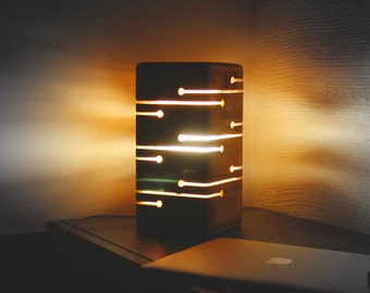 Wooden Night Lamp DL010