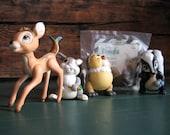 Vintage Mc Donald's Bambi Collection 1988