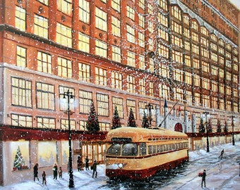Hudson's - Christmas on Woodward