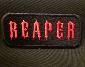 Reaper iron on patch