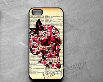 Human Skull iPhone case, iPhone 4 / 4s / 5 / 5s /5c, iPhone 6 / 6 Plus case, Samsung Galaxy S3 / S4 / S5 case, Note 2, Note 3, Note 4 case
