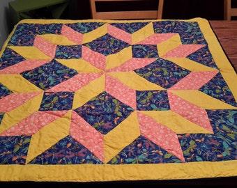 Carpenter star Dragonfly quilt