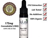 High Grade CBD Oil, Max CBD Hemp Oil 175mg Cannabidiol