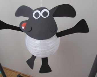Timmy Time paper lantern DIY kit