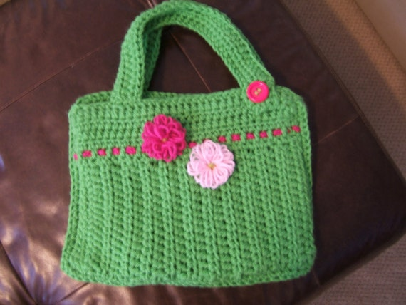 Items similar to Crochet Laptop Computer Bag on Etsy