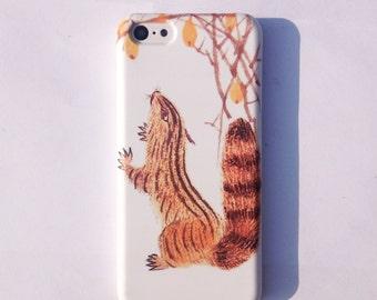 Squirrel  Phone Case  iphone 5/5s case iphone 5c case iphone4/4s  iphone6/ipnone 6 plus case Human being iphone case