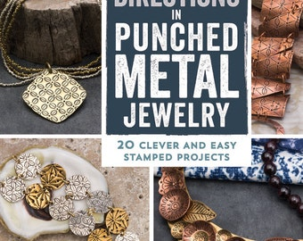 New Directions in Punched Metal Jewelry by Aisha Formanski - DIY Jewelry Projects, Jewelry Making Tools & Supplies Beaducation (BK009)