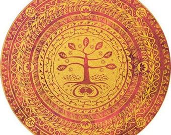 MEDIUM Babaylan Mandala Fine Art Print, 24 inches square