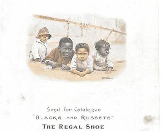 Regal Shoe Advertising  Black Americana Magazine Ads from 1900 Cosmopolitan