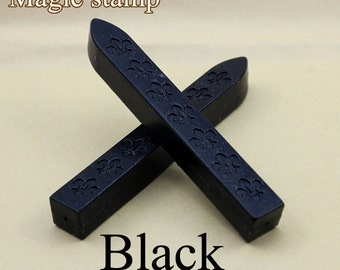 2pcs Black  Sealing Wax Sticks for Wax Seal Stamp