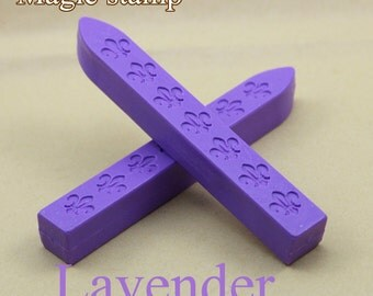 2pcs Lavender Sealing Wax Sticks for Wax Seal Stamp
