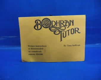 BOOK ONLY Bodhran Tutor by Tony Sullivan Halshaw Music