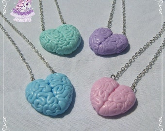 Love with your brain necklaces