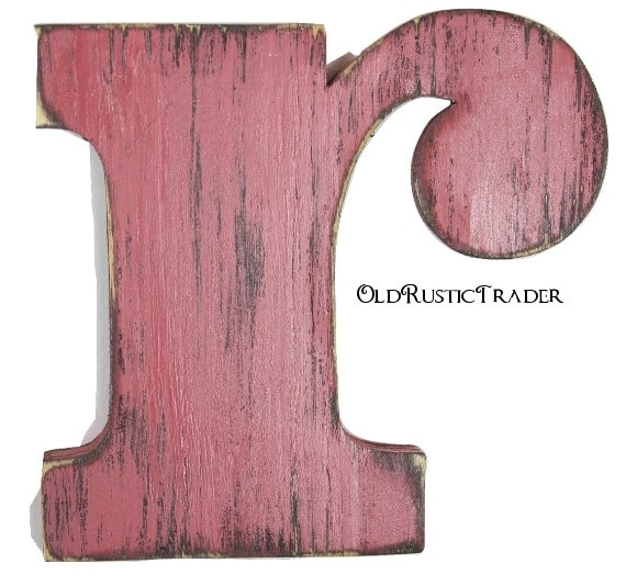 Letter wall decor r