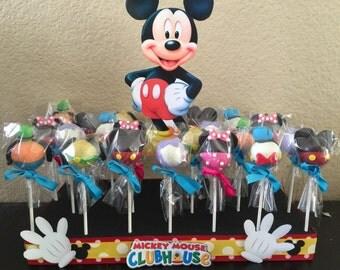 1 styrofoam cake pop stand mickey mouse