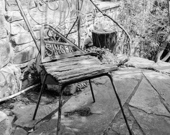 Still Life - The Old Singer (Black & White)