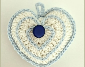 Chrochet Heart Accesory