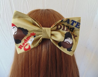 duck dynasty, duck dynasty hair bow, girls hair bow, girls fabric hair bow, duck dynasty hair clip, duck hair bow, duck hair clip, hey jack
