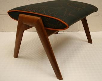 Vintage Danish Footstool