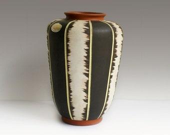 Vintage vase Eiwa Rita 50s West Germany pottery