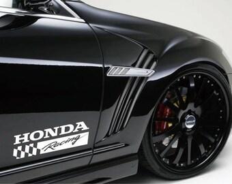 Honda Crv Stickers Etsy - Honda civic decal stickers