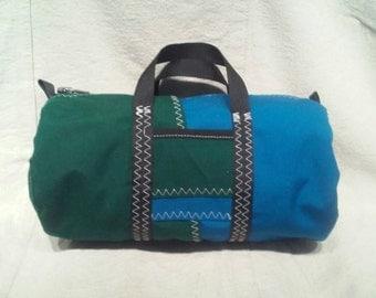 Small Sunbrella Duffel Tote Bag