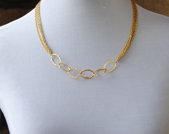 Gold-Fill Chain Necklace