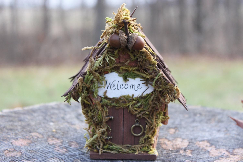 Maison Des F Es Miniature Jardin F Erique Gnome Maison