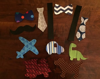 Baby Boy Applique Iron Ons
