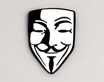 Guy Fawkes Mask Pins