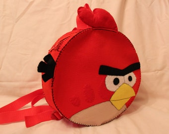 children's backpack Red (Angri bird)