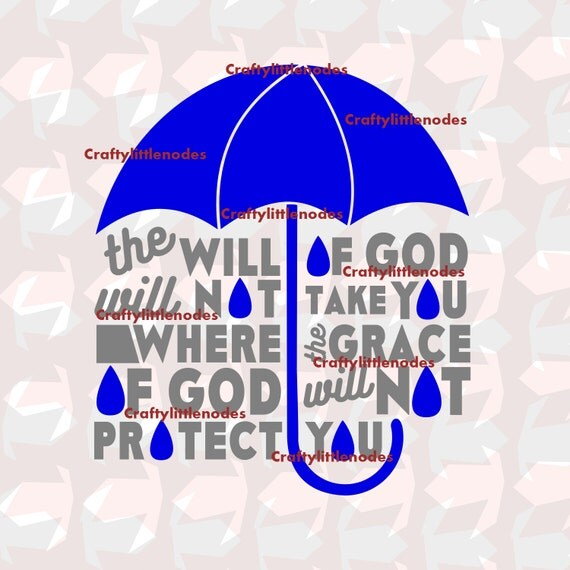 The Will Of God Will Not Take You SVG STUDIO Ai EPSScalable Vector Christian Cutting File Instant Download Commercial Use Cricut Silhouette