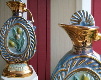 Vintage Decanter | 1973 Jim Beam 175 Months Old Whiskey | Vintage Kentucky Whiskey Bottle