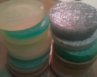 Guest Variety Herbal & Glycerine Soap Rounds