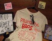 "Gravity Falls Replica ""Pterodactyl BROS"" T-shirt"
